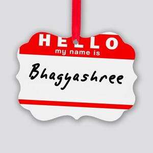 Bhagyashree Picture Ornament