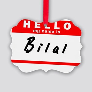 Bilal Picture Ornament