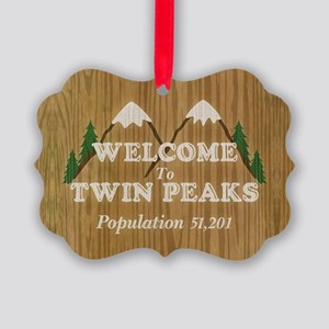 Twin Peaks Picture Ornament