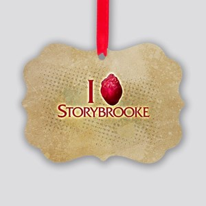 I Heart Storybrooke Picture Ornament