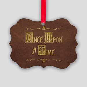 Once Upon a Time Picture Ornament