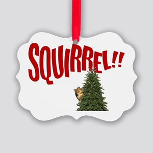 National Lampoon SQUIRREL!! Picture Ornament