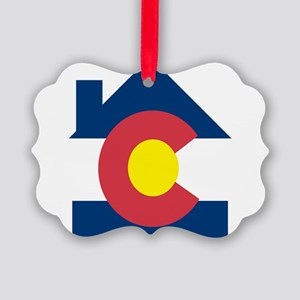 colorado house Ornament