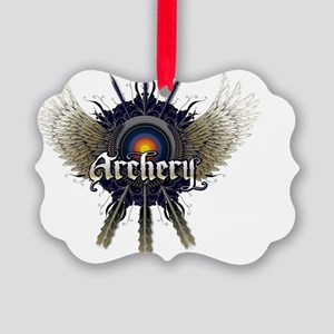 ARCHERY Picture Ornament