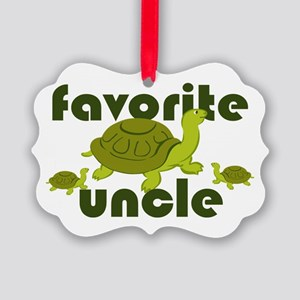 Favorite Uncle Picture Ornament