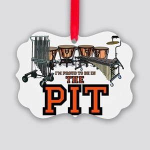 pit Picture Ornament