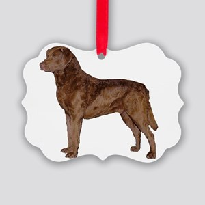 chesapeake bay retriever full Ornament