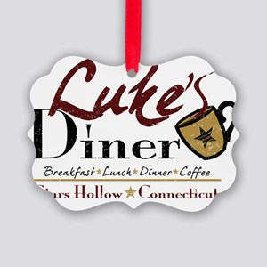 lukes diner new Picture Ornament