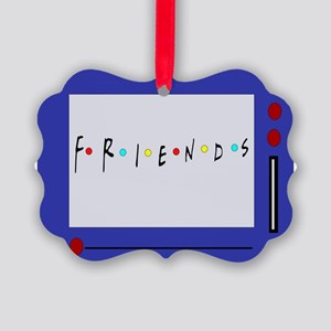 Friends TV Show Magna Doodle Picture Ornament