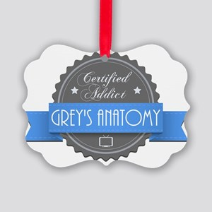 Certified Addict: Grey's Anatomy Picture Ornament