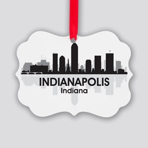IndianaPolis Picture Ornament
