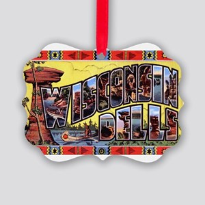 WisconsinDells1 Picture Ornament