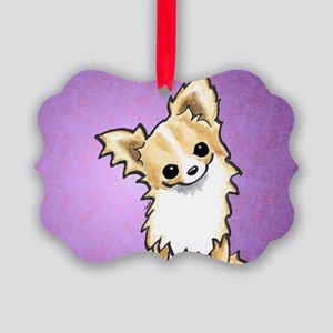 Chi Listen Up Plum Ornament
