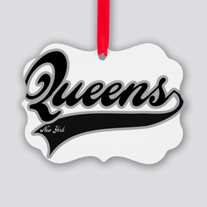 QUEENS NEW YORK Picture Ornament