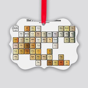 50 Cheese Periodic Table Picture Ornament