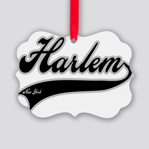 HARLEM NEW YORK Picture Ornament