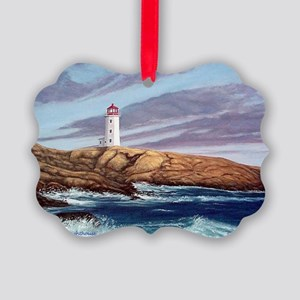 Peggys Cove Lighthouse  Picture Ornament