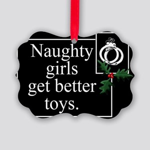 Naughty Girls Picture Ornament