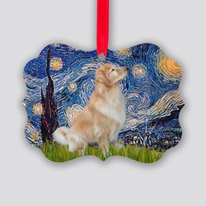 MP-Starry-GoldBoomr Picture Ornament
