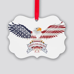 Deplorables Picture Ornament
