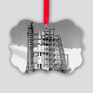 Saturn V Picture Ornament