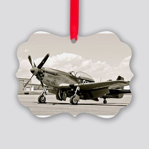 P-51 Airplane Ornament
