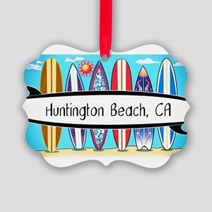 HB surfboards 2 Ornament