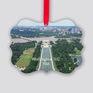 Washington DC Picture Ornament