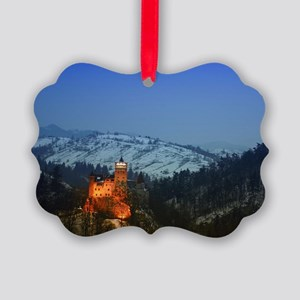 bran castle  Picture Ornament