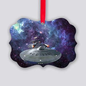 Warp Picture Ornament