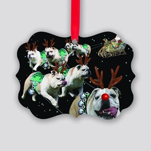 Reindeer Picture Ornament