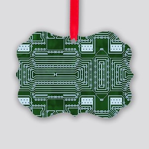 Circuit Board Picture Ornament