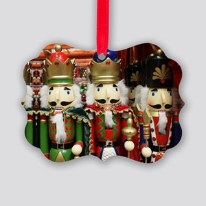 Nutcracker Soldiers Picture Ornament
