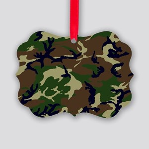 Camo Picture Ornament