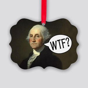 george-washington-rec Picture Ornament