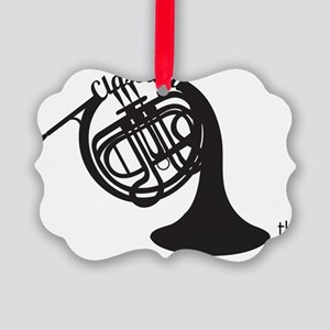 The Classical Horns Picture Ornament