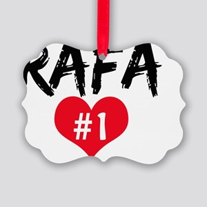 RAFA number one Picture Ornament