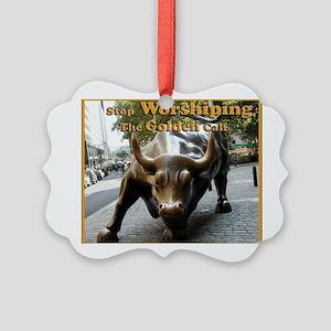 Wall Street Ornaments - CafePress