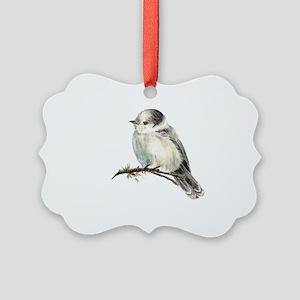 803c72bba58 Gray Jay Ornaments - CafePress