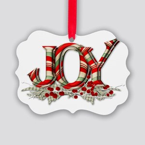 Joy Ornaments Cafepress