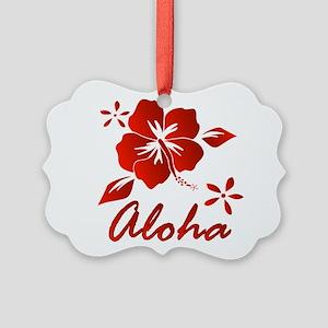 Aloha Picture Ornament