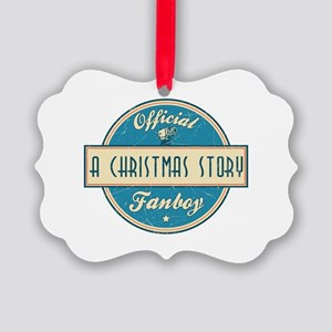 Official A Christmas Story Fanboy Picture Ornament