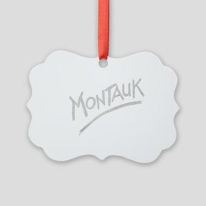 Montauk Picture Ornament