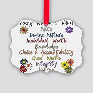 YW of Value copy Picture Ornament