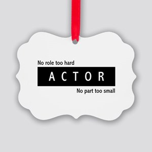 Actor Picture Ornament