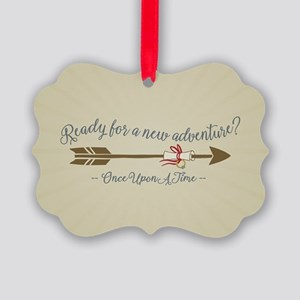 OUAT Ready For A New Adventure Ornament