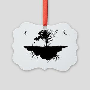 emoislandLARGE Picture Ornament