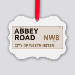 Abbey Road LONDON Pro Picture Ornament