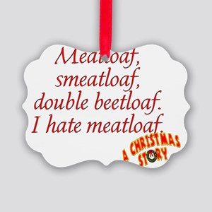 Meatloaf Picture Ornament