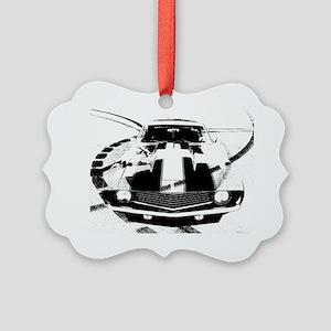 Camaro Style 3 Picture Ornament
